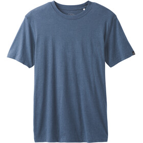 Prana Crew - Camiseta manga corta Hombre - azul